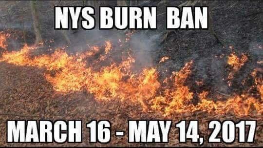 NYS Burn Ban
