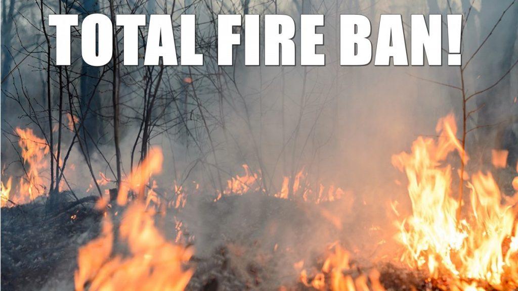 NYS Burn Ban in Effect till May 14, 2018
